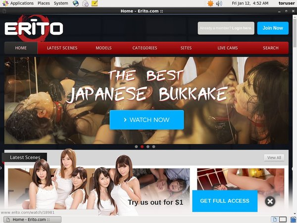 Erito Hack Account