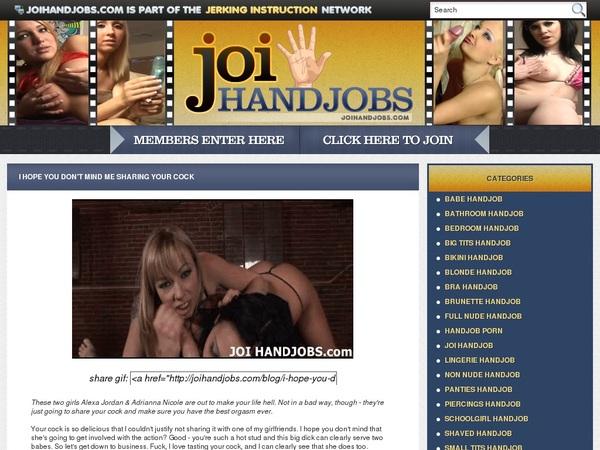 JOI Handjobs Free User