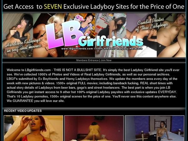 Ladyboy Girlfriends Account Premium Free