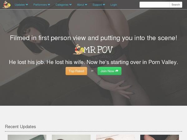 Mr Pov Premium Login