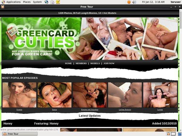 Green Card Cuties Username