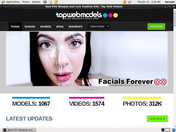 Top Web Models Mobile Account