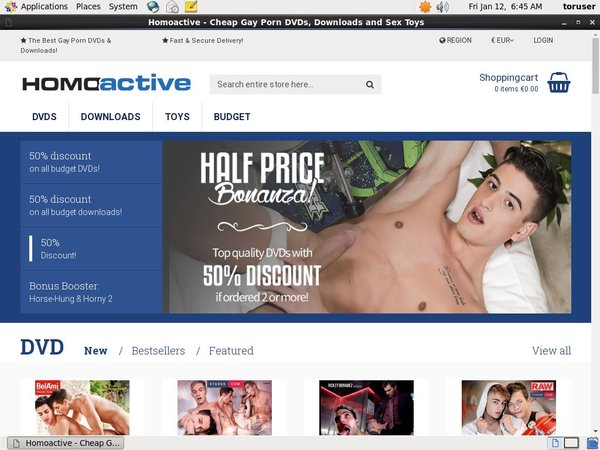 Homo Active Alternative Payment