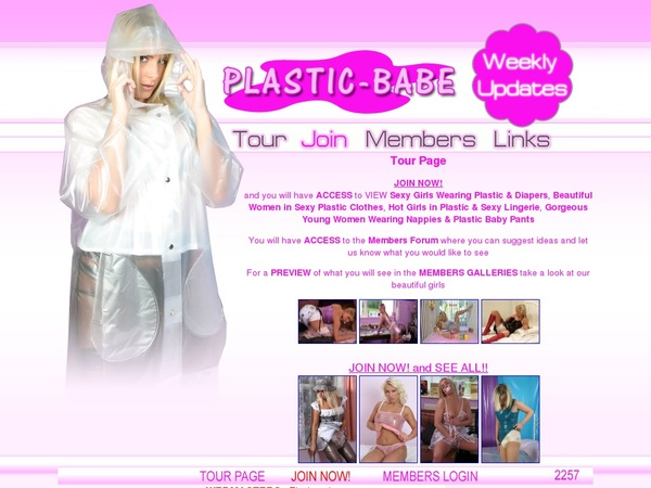 Plastic Babe Sale