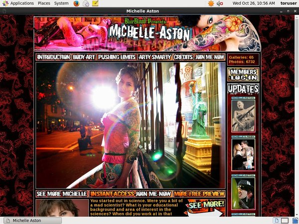 Premium Michelle Aston Account