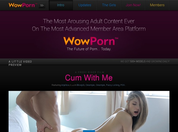 Wowporn Crear Cuenta