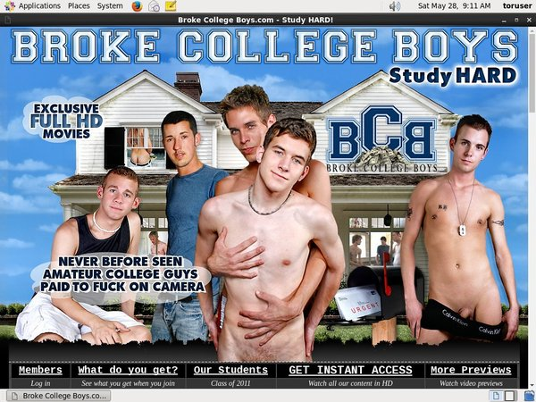 Broke College Boys Photo Gallery