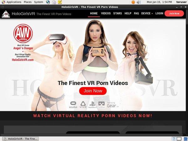 Holo Girls VR Signup Form
