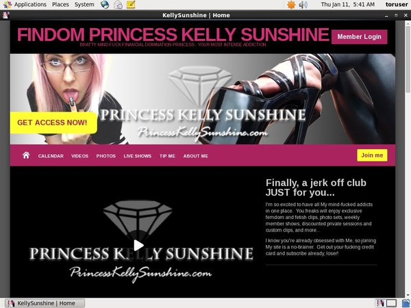 Kelly Sunshine Accounts Free