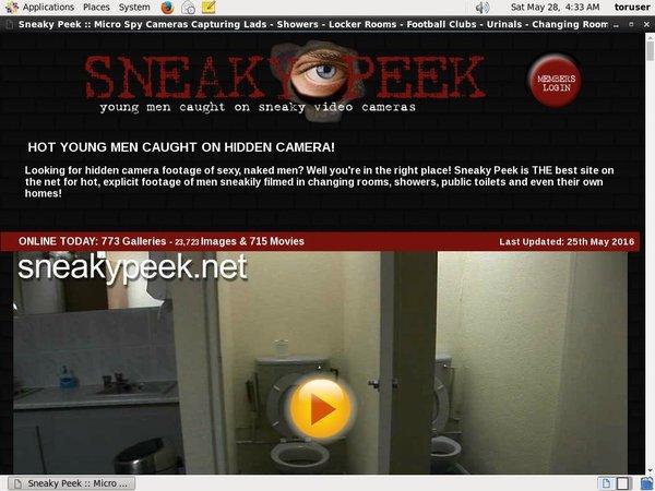 Free Login For Sneakypeek