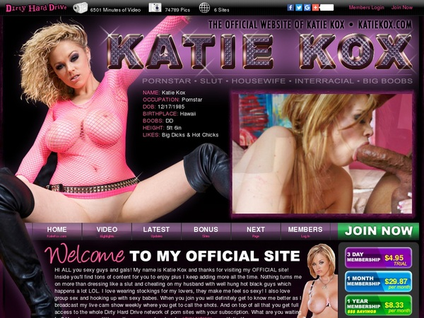 Katie Kox Free Login And Password